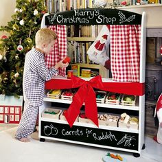 Play Shop & Theatre, Great Little Trading Co Christmas Concert, Christmas Shopping, Christmas 2019, Christmas Ideas, Role Play Shop, Play Market, Great Little Trading, Ideal Toys, Preschool Christmas