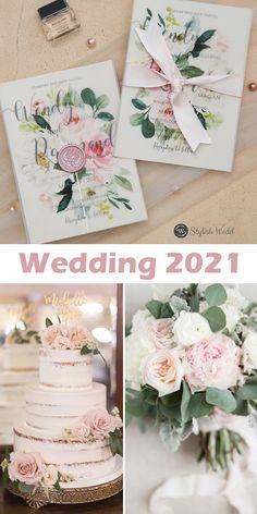 elegant wedding invitations with matching blush pink floral vellum jacket SWPI096 #wedding#weddinginvitations#stylishwedd#stylishweddinvitations #vellumweddinginvitations