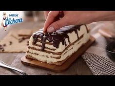 Tarta de galletas y café - Postres La Lechera - YouTube
