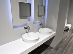 Plan de toilette en Corian® FRAME by Antonio Lupi Design® | design Gabriele Rosa