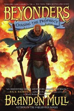 dust fairies & darwin: reading now: Beyonders, Chasing the Prophecy (book 3)