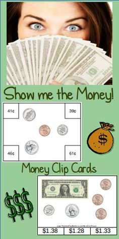 Money Clip Cards valued at $12 - offered in this Bundle for $10 – over 15% in $aving$!!  Over 48 pages – Over 189 cards!!!  This Money Clip Cards Bundle will $ave you over 15%, but you can purchase the products separately: