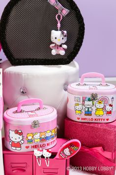 Surprise your favorite Hello Kitty fan with these adorable items.