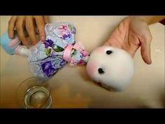Parte 01/09 - Como hacer una cabeza facil para muñeca - YouTube