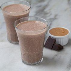 Peanut Butter & Chocolate Banana Smoothie - EatingWell.com