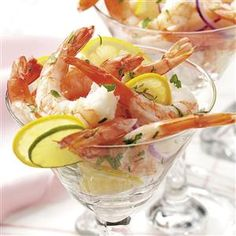 Zesty Marinated Shrimp Recipe -These easy shrimp look impressive on a buffet table and taste even better! The zesty sauce has a wonderful spicy citrus flavor. I especially like this recipe because I can prepare it ahead of time. —Mary Jane Guest, Alamosa, Colorado