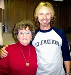 Tommy Shaw's Mom, Mildred.