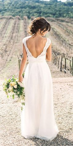 Bridal Inspiration: Rustic Wedding Dresses ❤ http://www.weddingforward.com/rustic-wedding-dresses/ #weddingdress