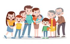 Find Happy Family Vector Illustration Isolated stock images in HD and millions of other royalty-free stock photos, illustrations and vectors in the Shutterstock collection. Thousands of new, high-quality pictures added every day. Family Clipart, Family Vector, Cute Family, Happy Family, Teacher Images, Preschool Family, Family Drawing, Vintage Typography, Vintage Logos