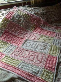 Ravelry: Project Gallery for BREATH baby blanket pattern by Jody Pyott