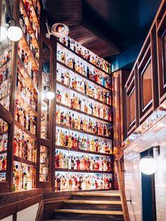 Pizzeria Popolare abrite 15.000 bouteilles, avec 600 références italiennes. Et un bar à cocktails au sous-sol.