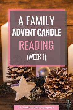 First Advent Candle Reading (for families with young kids)