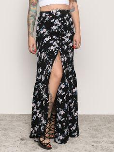 Wild Flower Maxi Skirt - Gypsy Warrior