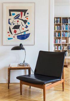 Finn Juhls elegant F137 Chair also called the Japan Chair.
