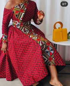 Latest African Fashion Dresses, African Dresses For Women, African Attire, Ankara Styles For Women, Ankara Dress Styles, Ankara Fashion, African Print Dress Designs, Ankara Designs, African Traditional Dresses