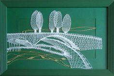 Výsledek obrázku pro podvinky Lace Making, Bobbin Lace, Om, Decor, Deserts, Contemporary, Studying, Lace, Bobbin Lacemaking