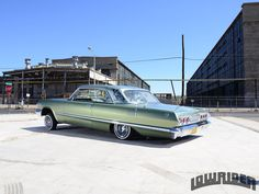 """With his knowledge of Lowriding, Joe Romero of the Rollerz Only Car Club made the decision to build a 1963 Chevrolet Impala SS Convertible. Mr. Romero was featured in our magazine fifteen years ago when his truck, """"The New Attraction,"""" was a sweepstakes contender and the made the millennium calendar."""