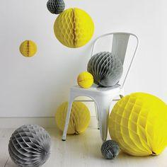 Tissue Paper Honeycomb Ball Decoration