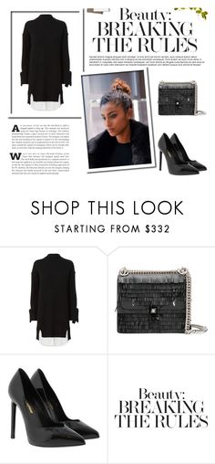 """""""Keep kicking doors open."""" by lucas-lucas-c ❤ liked on Polyvore featuring Brochu Walker, Fendi, Yves Saint Laurent and AT-A-GLANCE"""