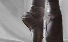 Treino de uma bailarina.