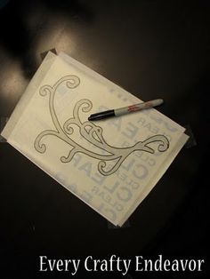 Contact paper to make crafts