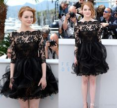 emma-stone-black-short-evening-dresses-celebrity.jpg (1024×950)