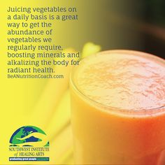 Juicing vegetables is one of the easiest and delicious ways of getting in all everyday nutrients! #BeANutritionCoach
