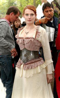 Metal corset by Ork de Rooij