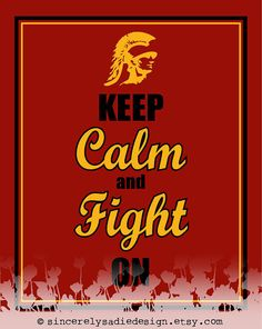 University of  Southern California USC Trojans Print