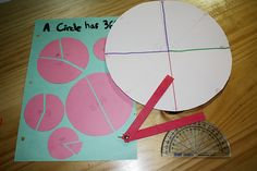 Living Math with Angles - a great blog by Jimmie with hands-on project to learn about angles.