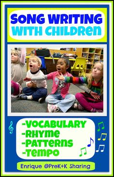 photo of: Song Writing with Children by Enrique Feldman at PreK+K Sharing