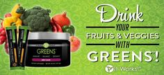 it works greens Juice without the mess! Questions? Call or text 520-840-8770 http://bodycontouringwrapsonline.com/it-works-greens