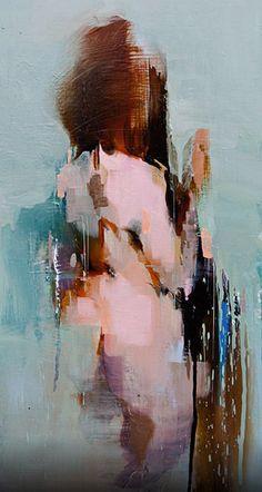 "@artistic_ideas: ""Shift 3"" - Scott Ewen, oil on masonite"