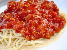 Mamma Mia, Spaghetti Sauce, Mets, Bruschetta, Lasagna, Pasta Recipes, Pizza, Food To Make, Recipies