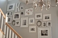 creative wall displays | get those photos off your hard drive