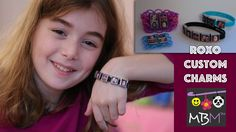 Roxo's Personalized Charm Bracelets - Make a one of a kind gift for the holidays! Use photos of your family to make charms for the center of a standard bracelet or add a bracket to make a truly one of a kind Rainbow Loom gift! Custom Charms, Personalized Charms, Loom Bracelets, Charm Bracelets, Rainbow Loom Christmas, Bracelet Making, Charmed, Ads, Holidays