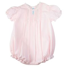 Feltman Brothers - Bubble with Pintucks Toddler Boy Outfits, Girl Outfits, Fashion Outfits, Girl Fashion, French Baby Clothes, Smocked Baby Clothes, Charlotte, Beautiful Baby Girl, Baby Girl Romper