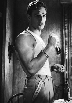 vintagegal:    Marlon Brando in A Streetcar Named Desire (1951)