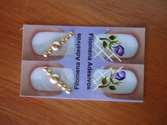 Adesivos de joias para unhas Nail Jewels, Manicure, Nails, Nail Designs, Pearl Earrings, Flowers, Inspiration, Jewelry, Toenails Painted