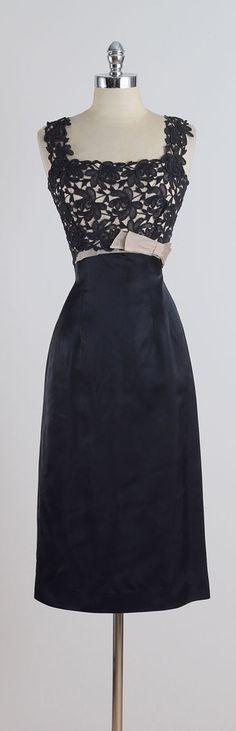 Spellbound . vintage 1950s dress . vintage by millstreetvintage