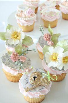 Baby Shower at Secret Garden Cupcakes