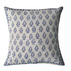 16x16 Throw Pillow Cover Indian Hand Block Print by RoyalFurnish, $4.99