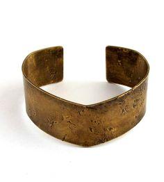 Mi-Go Brass Cuff Bracelet   $58
