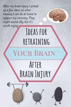 Brain training - Simple tasks to support brain injury recovery. Brain Injury Recovery, Brain Injury Awareness, Stroke Recovery, Surgery Recovery, Tramatic Brain Injury, Post Concussion Syndrome, Brain Aneurysm, Brain System, Brain Training