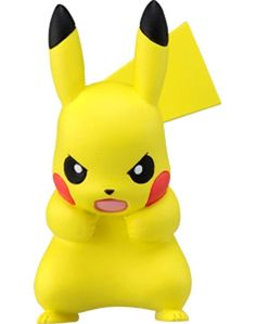 Takara Tomy Pokemon Moncolle Monster Collection MC-072 Pikachu 100,000 Volts F/S #TakaraTomy