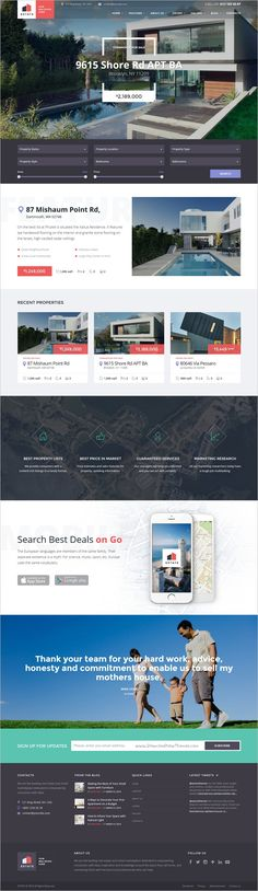 Estate is a stylish 3 in 1 #HTML #template crafted for a #realestate agent or broker and property rental/sales agencies website download now➩ https://themeforest.net/item/estate-property-sales-rental-site-template/18442626?ref=Datasata