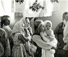 Russian Old Believers: Children at a Svadba (Wedding) 1971 in Woodburn, Oregon