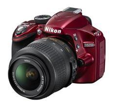 Nikon D3200 Digital SLR Camera with 18-55mm VR Lens Kit - Red (24.2MP) 3 inch LCD -   Megapixel: 24.2 MP Camera type: SLR Kit Optical sensor size: - Sensor type: CMOS Maximum image resolution: 6016 x 4000 pixels  Nikon D3200 18-55 VR Kit; D series. Megapixel: 24.2 MP; Camera type: SLR Kit; Sensor type: CMOS. Optical zoom: 3 x; Focal length range (f-f): 18  55 mm; Lens... - http://unitedkingdom.bestgadgetdeals.net/nikon-d3200-digital-slr-camera-with-18-55mm-vr-lens-kit-