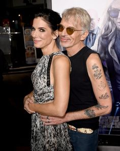 Pin for Later: All the Times Sandra Bullock Lit Up a Room  She re-created a classic prom pose with Billy Bob Thornton at the LA premiere of Our Brand Is Crisis in October 2015.