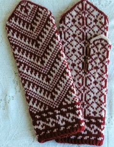 Handknit Turkish Mittens - Women Small / Medium
